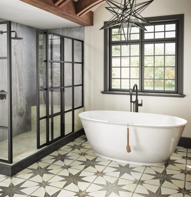 Karina Solid Surface Freestanding Bath in White