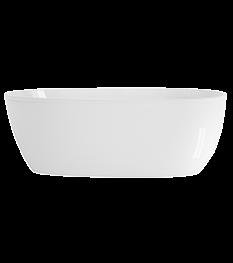 Stretto 59x30 Freestanding Bath in White