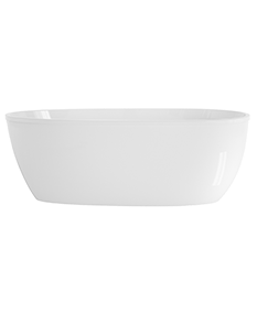 Stretto 59x30 Freestanding Bath in White