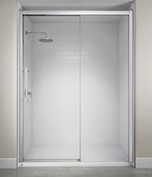 Jacuzzi Semi-Frameless Concealed Roller Door